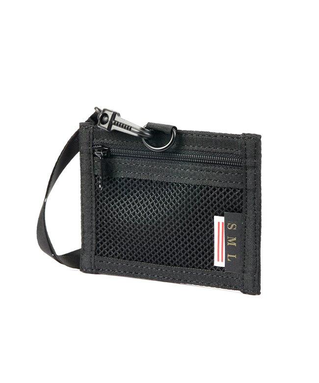 カバンのセレクション エスエムエル IDケース IDホルダー パスケース メンズ 首掛け SML k900239 ユニセックス ブラック フリー 【Bag & Luggage SELECTION】