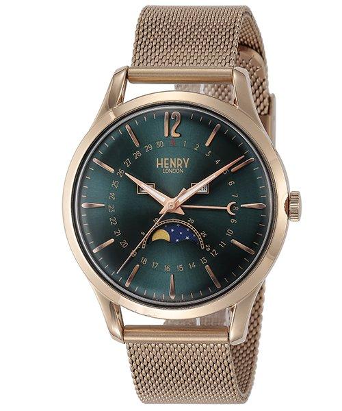 ロンドン ヘンリー 時計も着替えたいオヤジさんに。ヴィンテージルックのヘンリーロンドンはいかが?