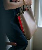 ROPE'/【新色追加】【E'POR】【A4対応】Y bag Large(サイドジップ縦型トートバッグ)/503742456