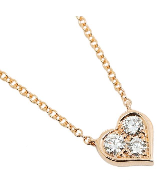 ティファニー ティファニー ネックレス アクセサリー TIFFANY & Co. 28950136 18K センチメンタル ダイヤモンド 16IN 18R ピンクゴールド レディース その他 フリー 【Tiffany & Co.】