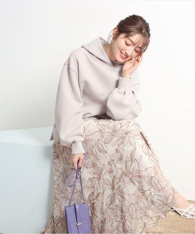 Apuweiser-riche/エアリー刺繍ロングスカート/503752823