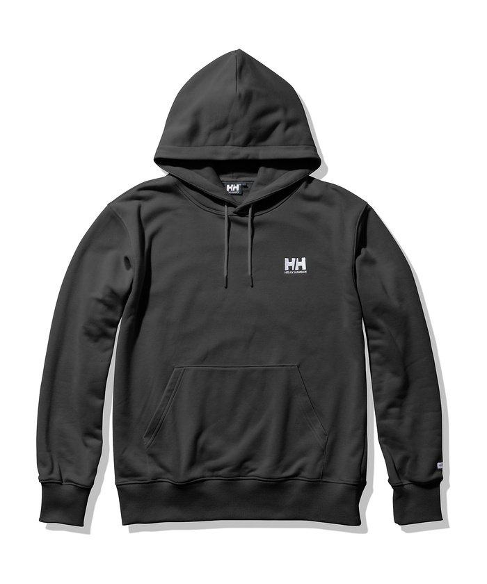 販売主:スポーツオーソリティ ヘリーハンセン/メンズ/HH Logo Sweat Parka (HHロゴスウェットパーカ) メンズ K M 【SPORTS AUTHORITY】