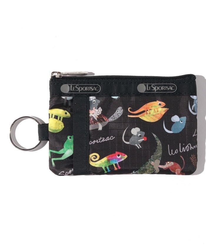 レスポートサック ID CARD CASE レオ・レオニ ブラック ユニセックス ブラック F 【LeSportsac】