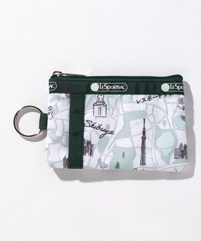 レスポートサック ID CARD CASE トウキョウマップ ユニセックス グリーン系 F 【LeSportsac】