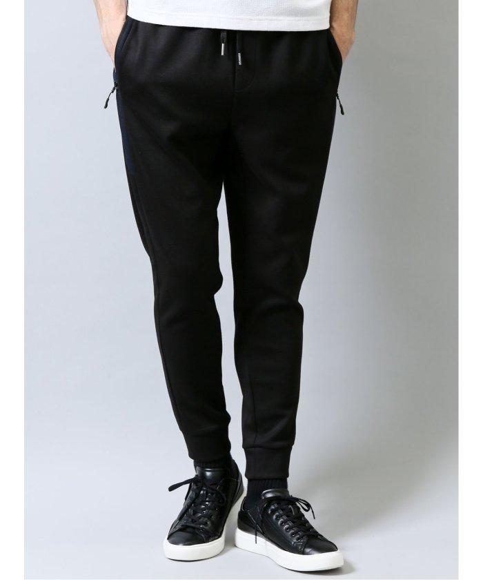 【24%OFF】 タカキュー ライトダンボール セットアップ ジョガーパンツ メンズ ブラック L 【TAKA-Q】