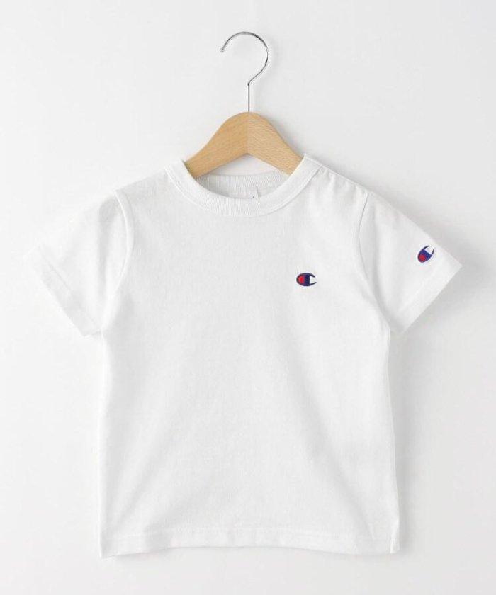 デッサン champion ベーシックコットン(綿)Tシャツ キッズ ホワイト(002) 11(110cm) 【Dessin】