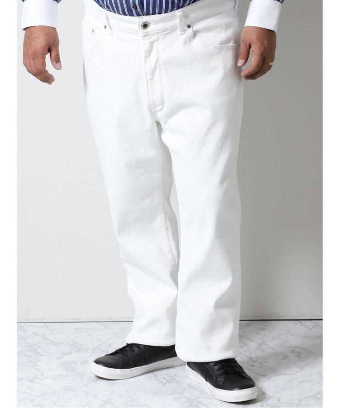 【10%OFF】 グランバック エドウィン/EDWIN JERSEYS レギュラーストレート メンズ ホワイト 105cm 【GRAND-BACK】 【タイムセール開催中】