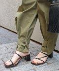 IENA/【FABIO RUSCONI/ファビオルスコーニ】スクエアヒールサンダル◆/503936974
