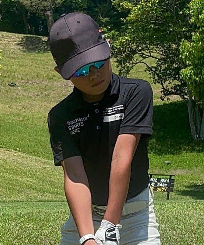 スリクソン 定番半袖シャツ メンズ ブラック系 140 【SRIXON】