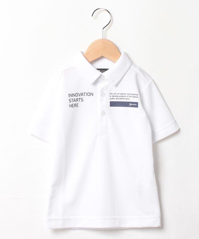 スリクソン 定番半袖シャツ メンズ ホワイト系 130 【SRIXON】