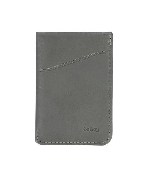 バックヤードファミリー bellroy ベルロイ CARD SLEEVE WCSA ユニセックス チャコールグレー カードケース 【BACKYARD FAMILY】