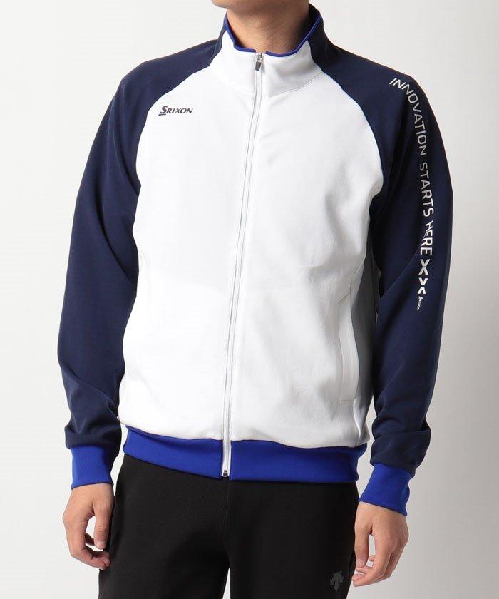 スリクソン ソフトダンボールジャージージャケット ユニセックス ホワイト系 L 【SRIXON】