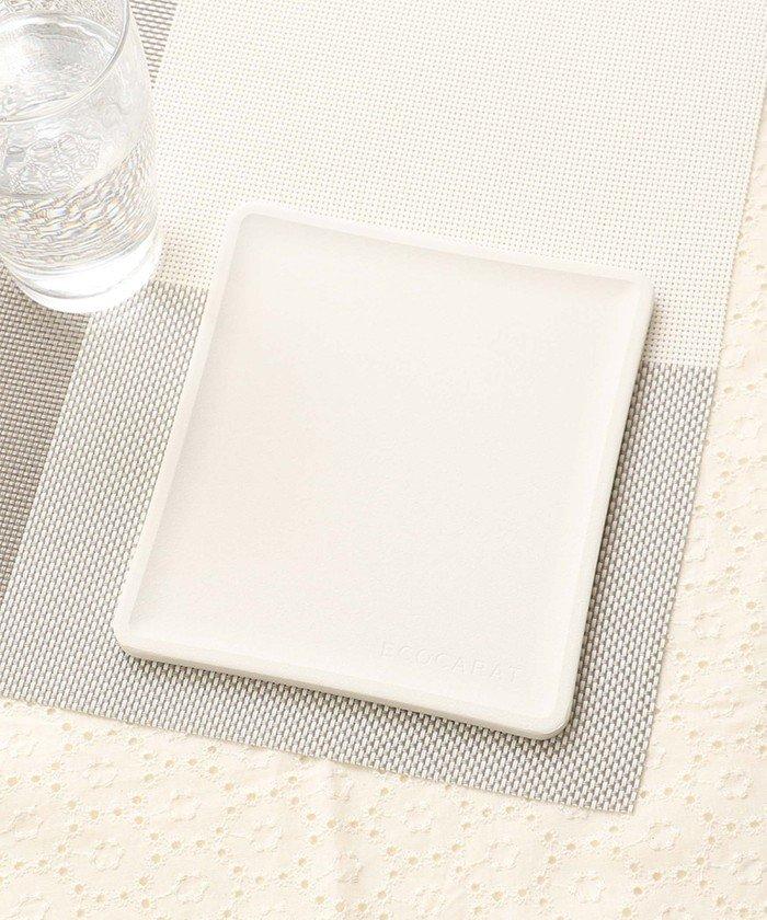 アフタヌーンティー・リビング エコカラット/トースト皿 レディース ホワイト — 【Afternoon Tea LIVING】