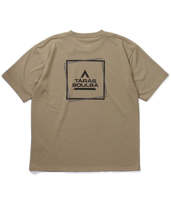 販売主:スポーツオーソリティ タラスブルバ/メンズ/ドライミックスヘビーウエイトバックプリントTシャツ(スクエアロゴ) メンズ ベージュ L 【SPORTS AUTHORITY】