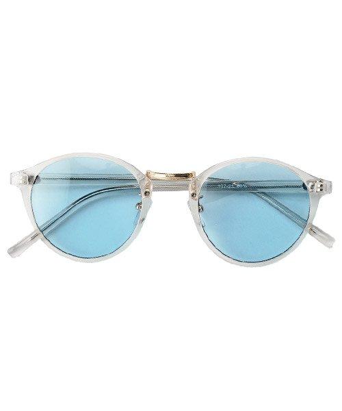 【15%OFF】 ラグスタイル ボストンサングラス/サングラス 眼鏡 グラサン メガネ メンズ レディース ボストン メンズ その他系1 F 【LUXSTYLE】 【タイムセール開催中】