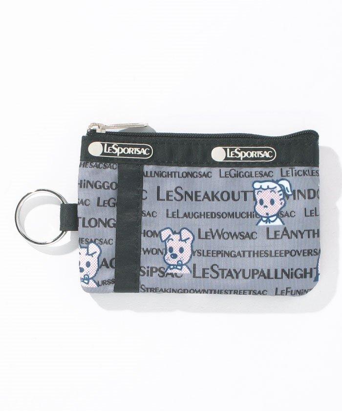 レスポートサック ID CARD CASEオサムタイポグラフィ ユニセックス グレー系 F 【LeSportsac】