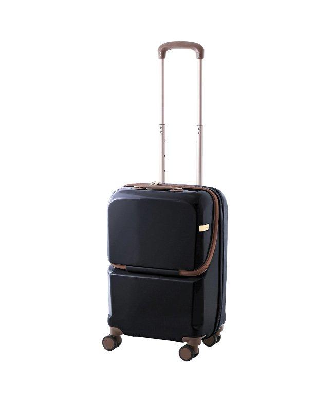 カバンのセレクション エース クリーディエ スーツケース 機内持ち込み Sサイズ 36L 軽量 フロントオープン ace. TOKYO 06922 ユニセックス ネイビー フリー 【Bag & Luggage SELECTION】