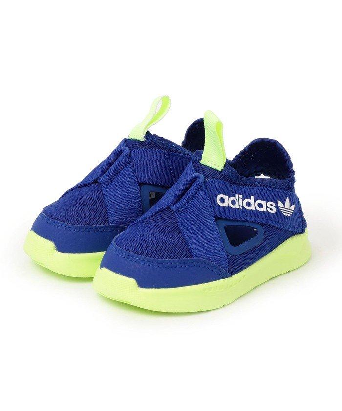 シップス adidas:360 SANDALS キッズ ブルー 13 【SHIPS】