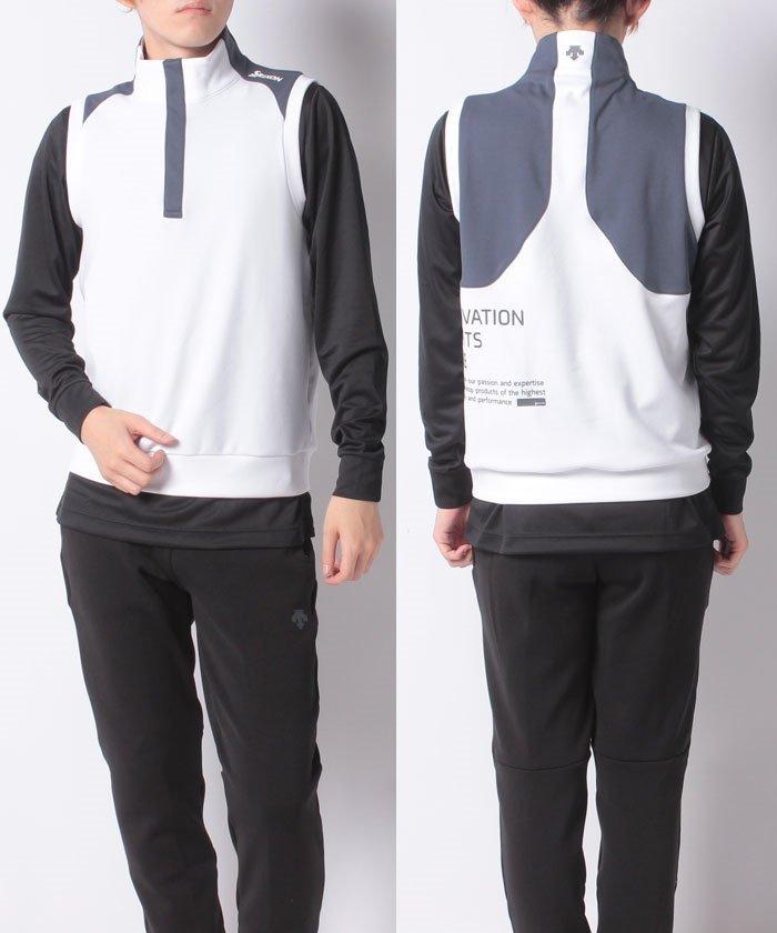 スリクソン ソフトダンボールジャージーベスト メンズ ホワイト系 L 【SRIXON】