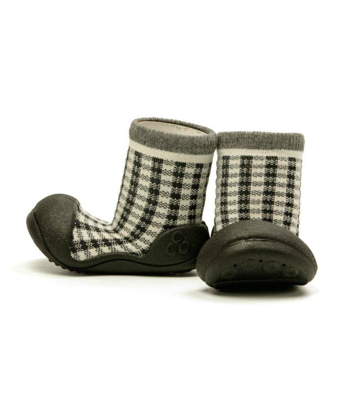 フットプレイス アティパス Attipas ベビー 靴下 シューズ プレゼント ギフト AP−2700 キッズ ブラック S(10.8cm) 【FOOT PLACE】