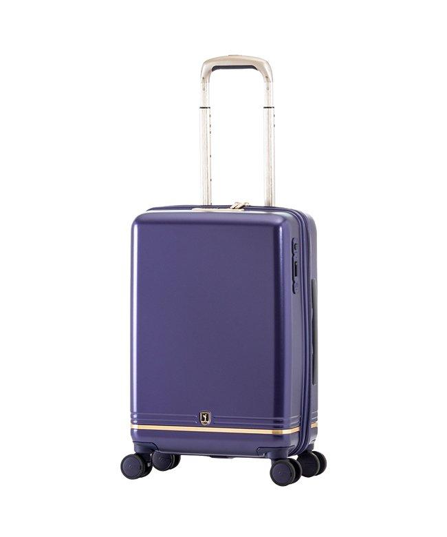 カバンのセレクション アジアラゲージ スーツケース 機内持ち込み Sサイズ 33L フライト 軽量 静音 抗菌仕様 ストッパー機能 f−light flt−010k−18 ユニセックス ブルー フリー 【Bag & Luggage SELECTION】