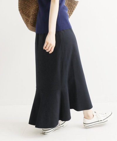 IENA/《追加予約》ギンガムカットソーマーメイドスカート◆/504140292