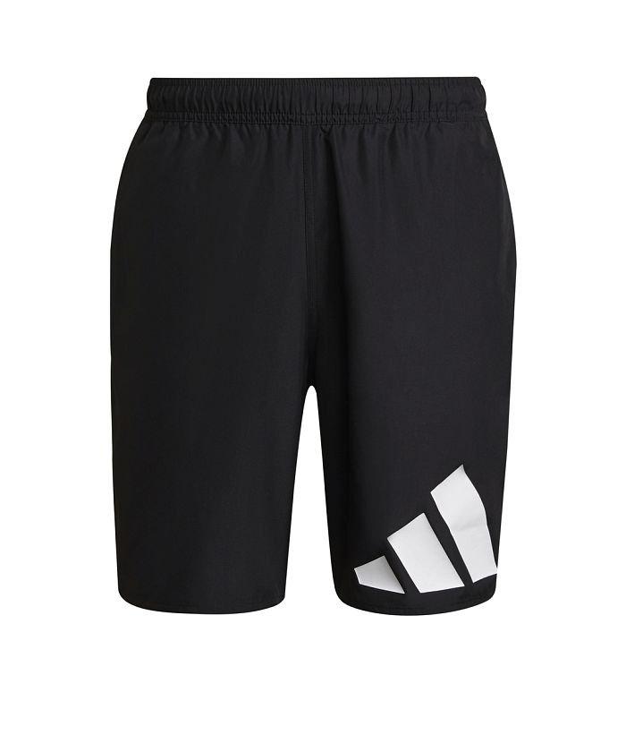 アディダス クラシックレングス ロゴ スイムショーツ メンズ ブラック S 【adidas】