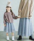 pairmanon/【ママとおそろい】チュール  ロングスカート ガールズ/504208234