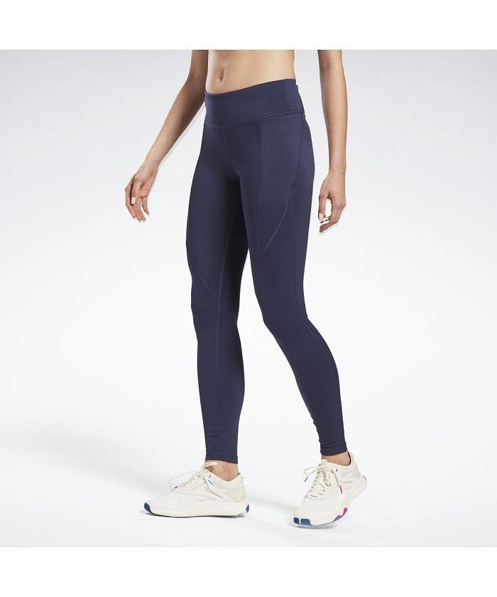 【20%OFF】 リーボック ワークアウト レディ パント プログラム レギンス / Workout Ready Pant Program Leggings レディース ベクターネイビー L 【Reebok】 【セール開催中】