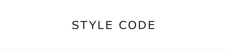 STYLE CODE(スタイルコード)