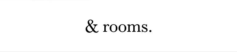 &rooms.(アンド ルームス)
