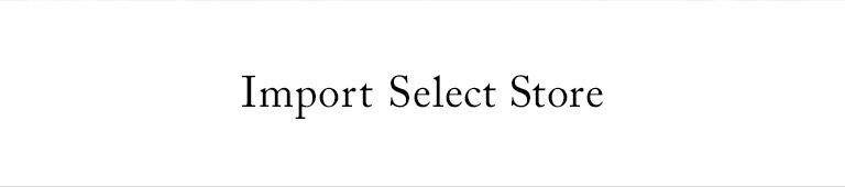 Import Select Store(インポートセレクトストア)