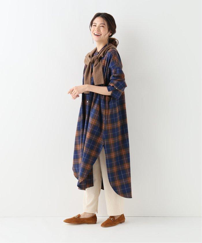 【2019年秋】レイヤードワンピースコーデ