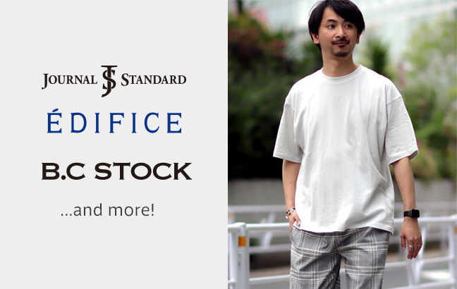 JOURNAL STANDARD,EDIFICE OUTLET,B.C STOCK and more