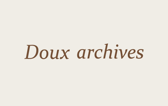 Doux archives