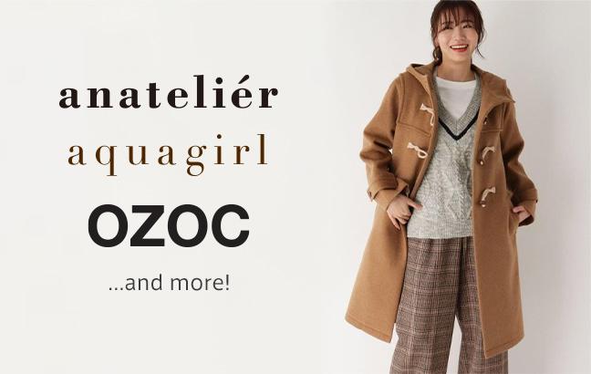 anatelier,aquagirl,OZOC and more