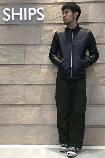 シップス ライダース コーデ 13度の服装 画像1