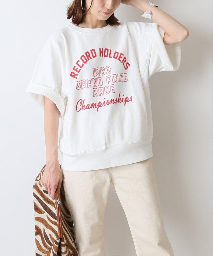【CHAMPION】 別注short sleeve sweat