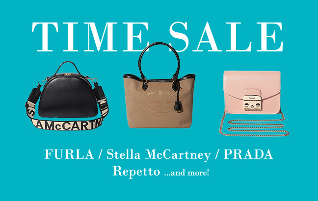 【タイムセール開催中】FURLA、Repetto、Stella McCartney、PRADA …a